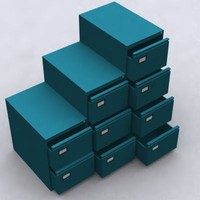 3d filing cabinets