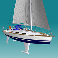 Sailboat 34 foot