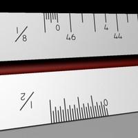 ruler pencil 3d model