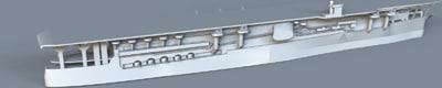 3d kaga carrier model