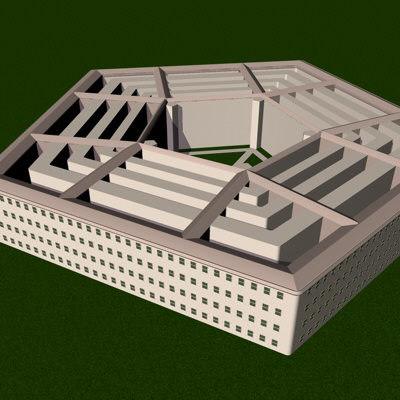 pentagon d 3d model