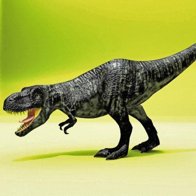 tyrannosaurus rex t 3d model