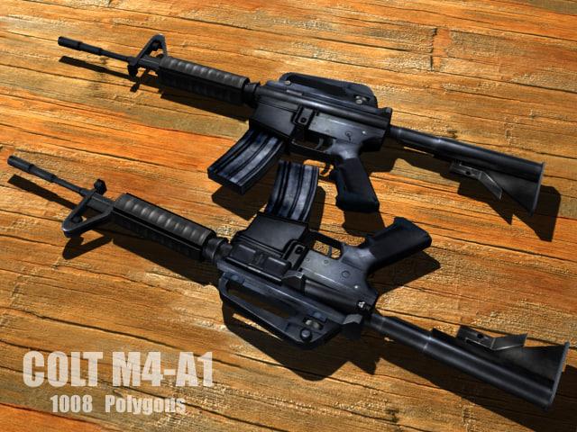 colt rifle max