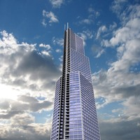 modern office building 3d ma