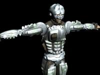 max sci-fi soldier