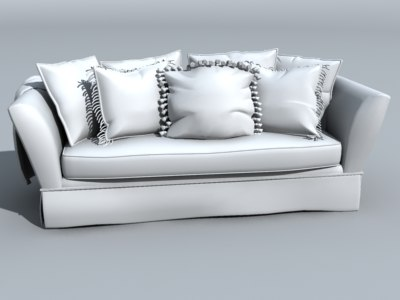 3dsmax couch furniture