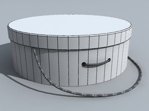 3dsmax circle container