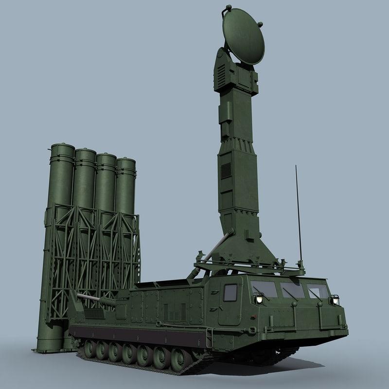 sa-12 gladiator 3d model