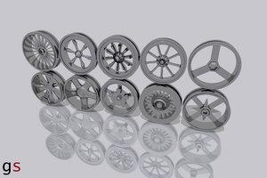 rims vehicle 3d model