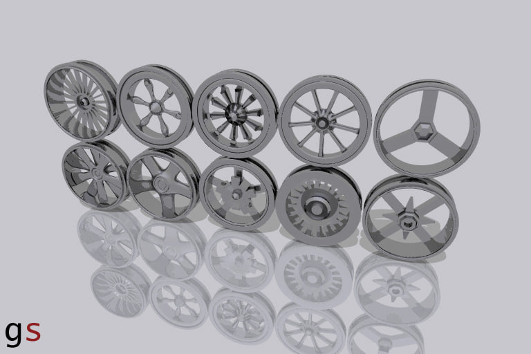 rims vehicle 3d model