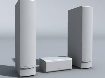 3d 3ds speakers