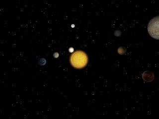 solar planets 3d max