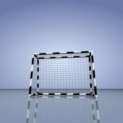 3d handball goal model