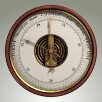 3d model barometer