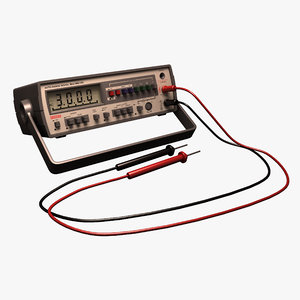 digital multimeter 3ds