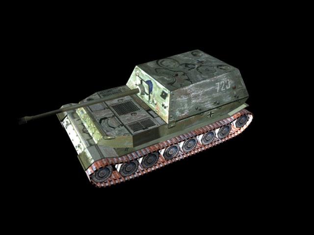 3ds max tiger tank