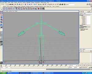 animation rig fk ik 3d model