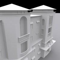 luxury condominium complex 3d max