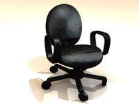 leather chair.3DS