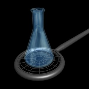 eulymeyer flask ring 3d max