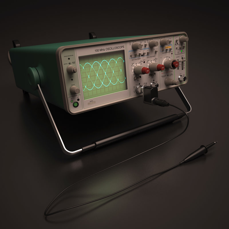 3d oscilloscope model