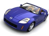 Nissan 350z roadster 3DS