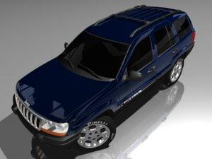 3ds jeep grand cherokee
