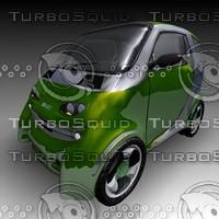 3d model smart city car