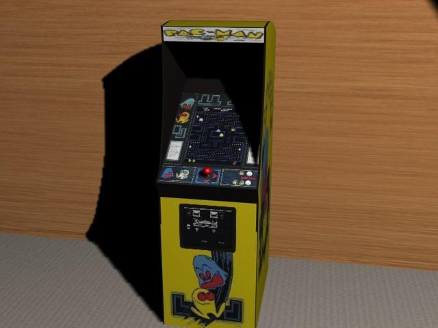 maya pacman arcade machine