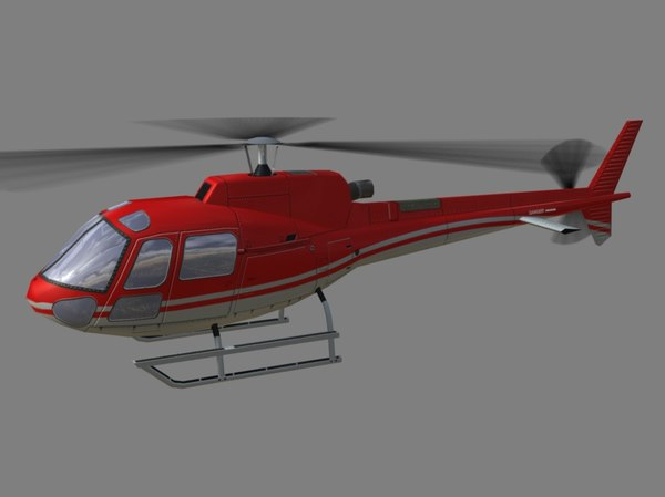as-350 350 3d model