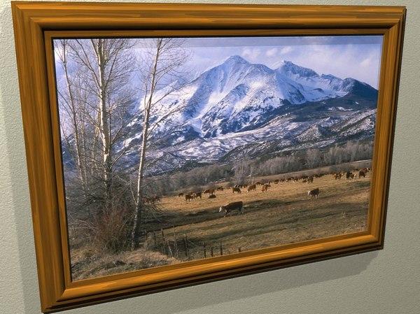 lightwave picture frame