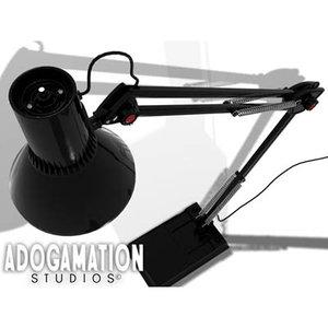 3d model armed lamp