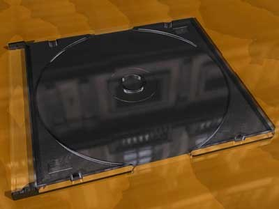 jewel cd case 3d model