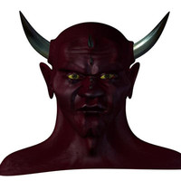 demon head (all quads)