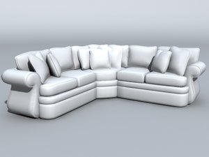 couch furniture 3d model