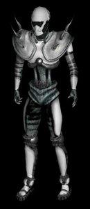 3d model alien soldier