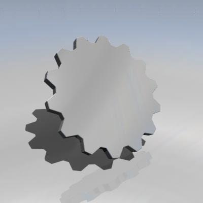 3ds cog wheel