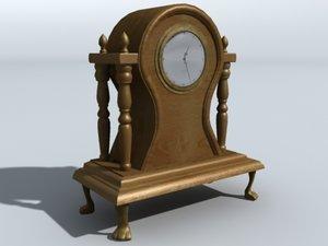 3dsmax shelf clock