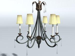 chandelier kitchen max