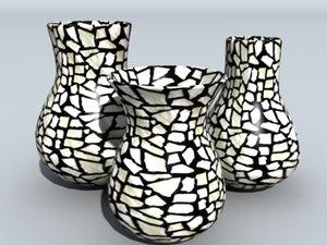 ceramic pots 3d model