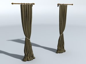 3d bedroom curtains