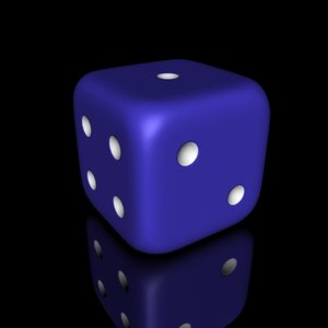 3dsmax dice rounded corners