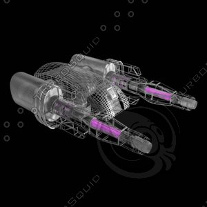 turret weapon 3d model