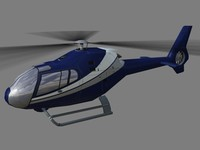 eurocopter colibri helicopter 3d max