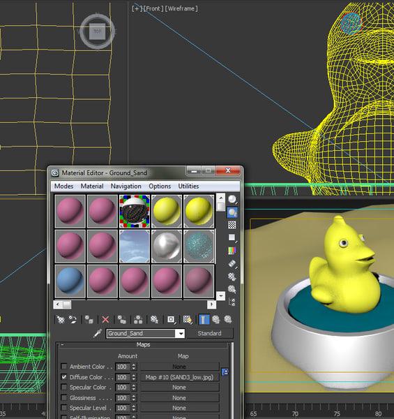 3d model toy rubber duck