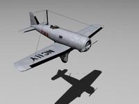 northrop alpha 3d model