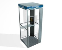 3d phone booth