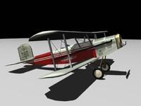 3d model douglas m-2 mail plane
