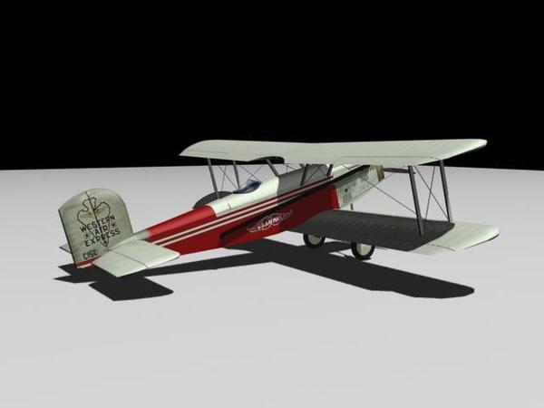 douglas m-2 mail plane 3d 3ds