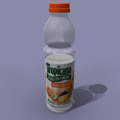 free max mode orange bottle